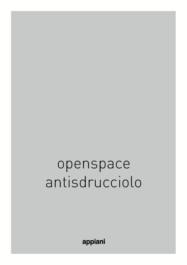Openspace antisdruciolo