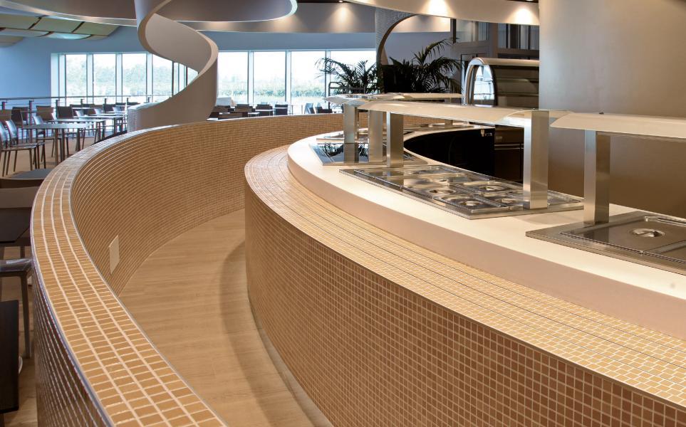 Rivestimento cucina piastrelle mosaico cucina aquardens pescantina